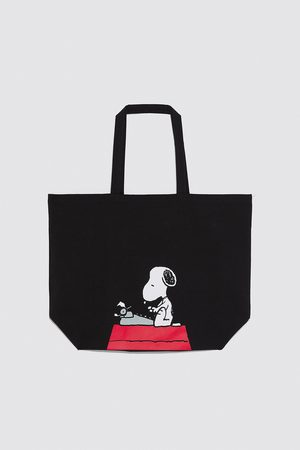 Zara Dame Tote bags - Shopper snoopy ®peanuts