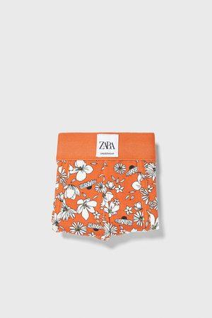 Zara Underbukser - Boksershorts med blomstermønster