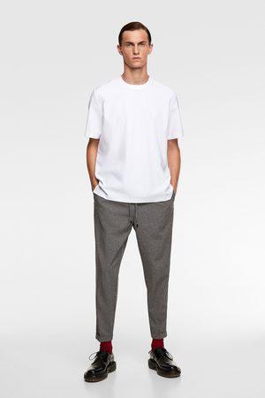Zara Skjorter - Traveler skjorte med ribbestrikk