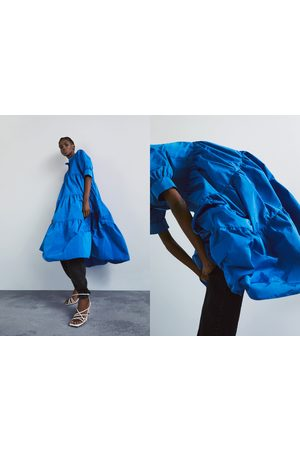 Zara Dame Kjoler - Kjole med vide ermer