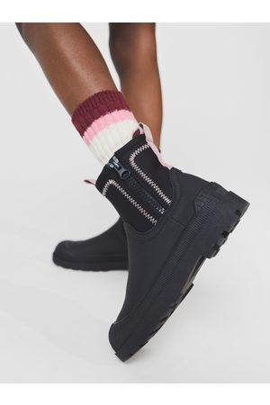 Zara Sokker - Ribbestrikkede sokker med bånd