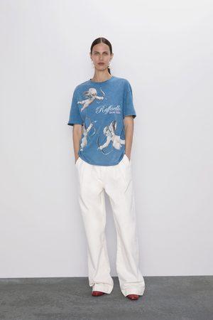 Zara Dame Skjorter - T-skjorte med motiv fra triumph of galatea