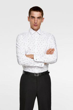 Zara Skjorte med blomstermønster
