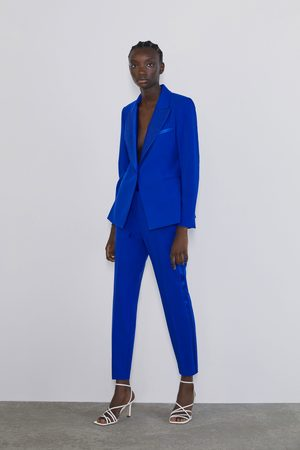 Zara Dame Bukser - Smoking bukse med bånd i siden