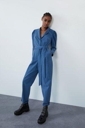 Zara Dame Belter - Lang jumpsuit med belte