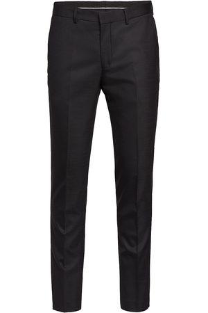Selected Slhslim-Mylostate Flex Black Trs B Noos Dressbukser Formelle Bukser