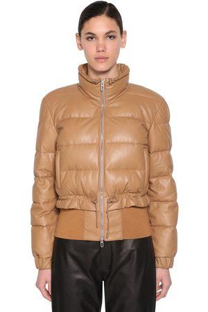 DROME Leather Down Jacket