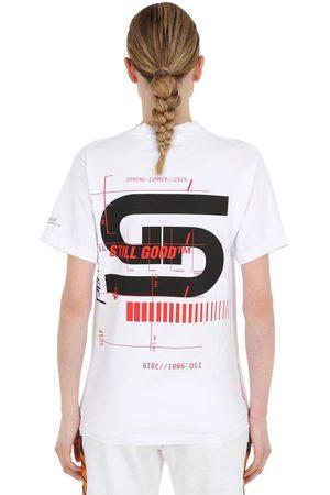 STILL GOOD Dynamism Cotton Jersey T-shirt