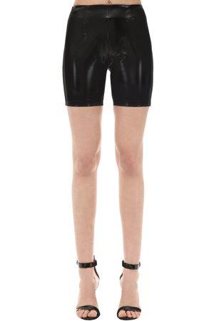 GCDS Vinyl Biker Shorts
