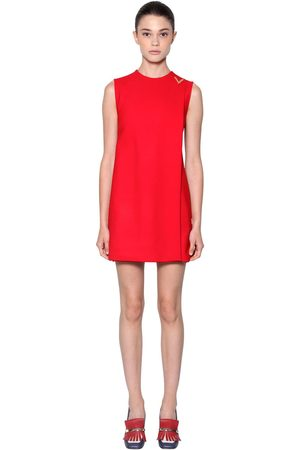 VALENTINO Double Stretch Wool Crepe Dress
