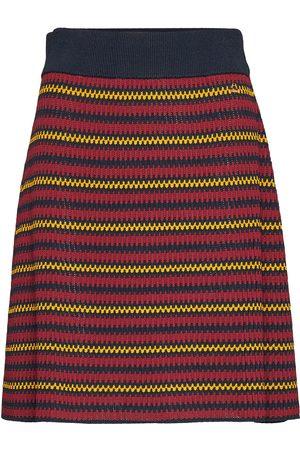 Morris Lady Colette Knit Skirt Knelangt Skjørt Multi/mønstret