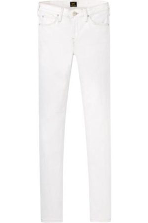 Lee Off-White Jeans Scarlett Cropped Bukse