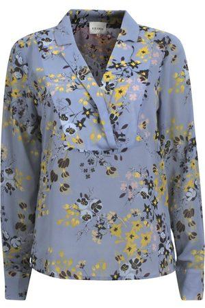 Six Ames Mønster Rosa Bluse Og Skjorter