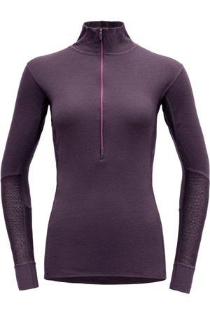 Devold Dame Ulltrøye - Women's Wool Mesh Half Zip Neck