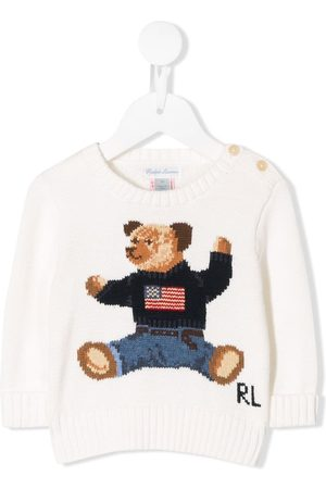 Ralph Lauren Bear embroidered jumper