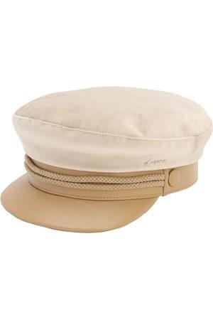 DON Dame Capser - Velvet & Leather Sailor Cap