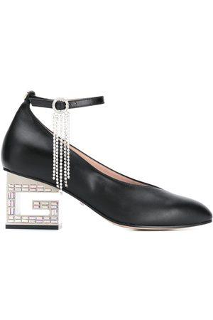 Gucci Logo heel pumps