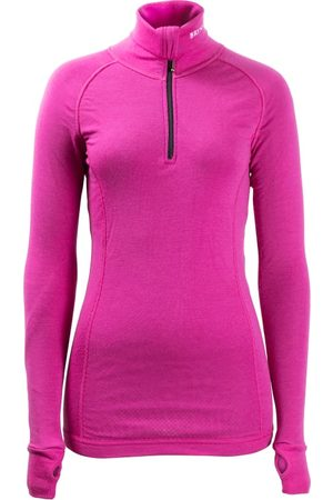 BRYNJE Lady Arctic Zip Polo with Thumbfungergrip