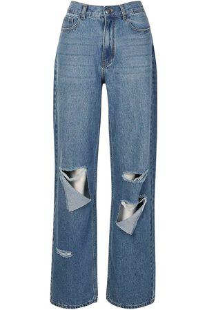 Boohoo Tall Rip Boyfriend Jeans
