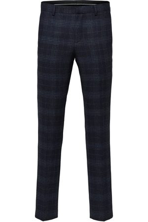 Selected Suit trousers Slim fit checked