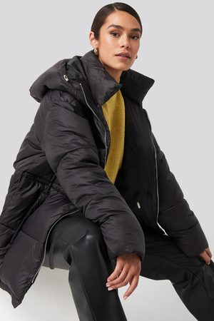 NA-KD Dame Vinterjakker - Drawstring Padded Jacket