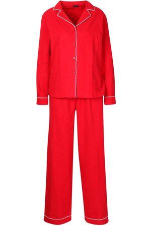 Boohoo Brushed Button Through PJ Trouser Set
