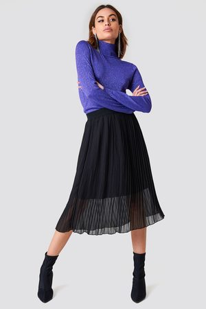 NA-KD Pleated Midi Skirt