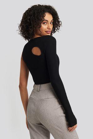 NA-KD Dame Body - Cut Out Asymmetric Bodysuit