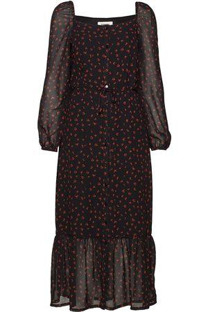 Modstrom Dame Mønstrede kjoler - Valery Print Dress Knelang Kjole Multi/mønstret