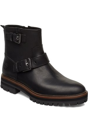 Timberland Dame Skoletter - London Square Biker Shoes Boots Ankle Boots Ankle Boots Flat Heel