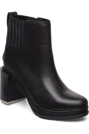 sorel Dame Skoletter - Margo Chelsea Shoes Boots Ankle Boots Ankle Boots With Heel Svart