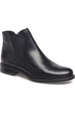 Bianco V-Split Boot Shoes Boots Ankle Boots Ankle Boot - Flat