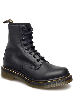 Dr. Martens 1460 Pascal Black Virginia Shoes Boots Ankle Boots Ankle Boot - Flat
