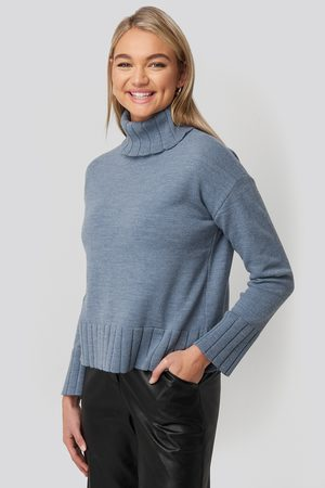NA-KD Dame Pologensere - Slouchy Turtle Neck Sweater