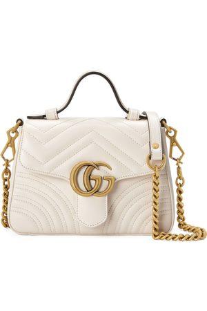 Gucci Dame Håndvesker - GG Marmont mini top handle bag