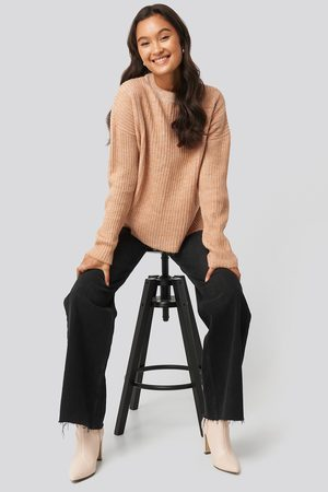 Trendyol Dame Gensere - Crew Neck Knitted Sweater