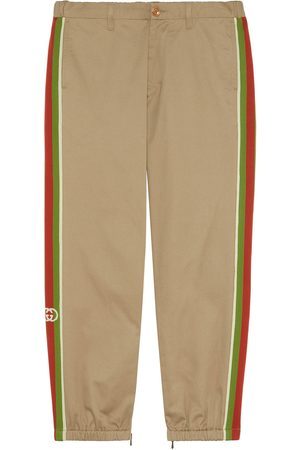 Gucci Cotton trousers with stripes