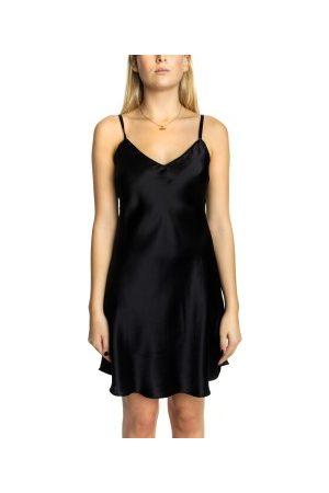 Lady Avenue Dame Pyjamaser - Silk Satin Nightgown