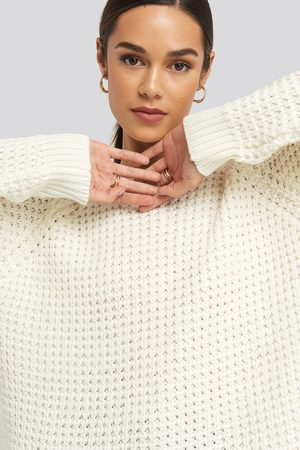 NA-KD Round Neck Pineapple Knitted Sweater
