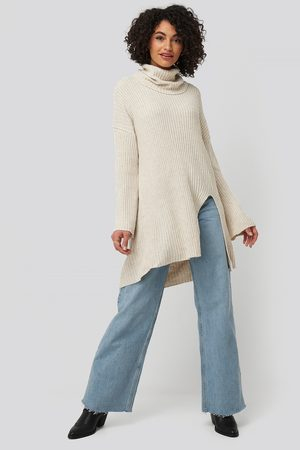 Trendyol Front SlitTurtleneck Knitted Tunic