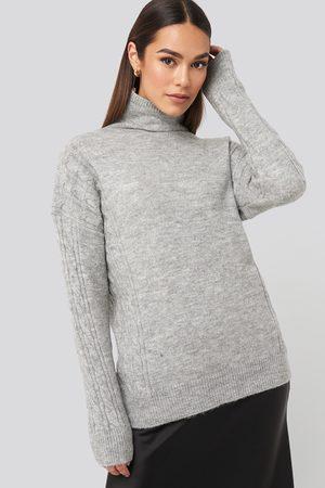 Trendyol Turtleneck Sleeve Detailed Knitted Sweater