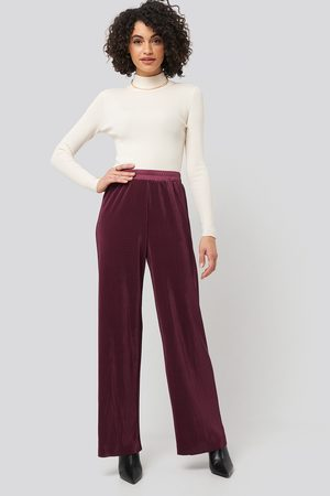 NA-KD Dame Slengbukser - Wide Pleated Pants