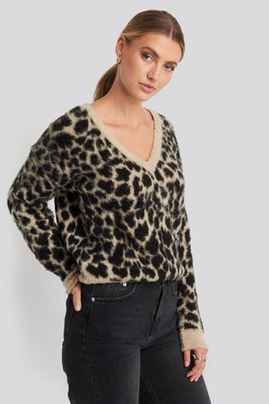 Rut & Circle Dame Gensere - Sandy Jacquard Knit