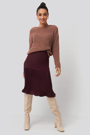 NA-KD Dame Foldeskjørt - Pleated Detail Skirt