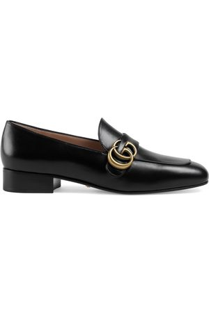 Gucci Leather loafer with Double G