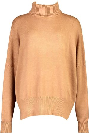 Boohoo Oversized Turtle Neck Knitted Jumper