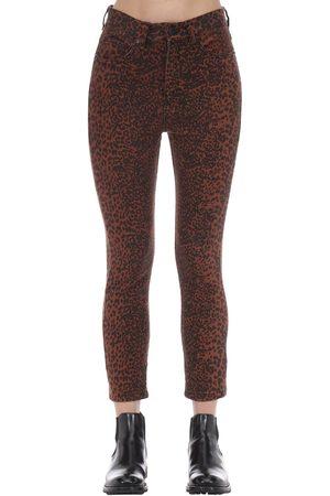 The People Vs Dame Jeans - Wild Cat Bonnie Cotton Denim Jeans