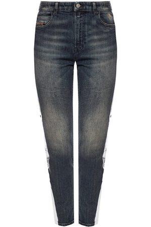 Diesel Dame High waist - 'Babhila-High-Sp' side stripe jeans