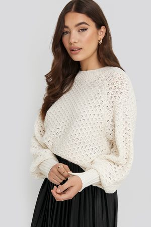 NA-KD Batwing Knitted Sweater