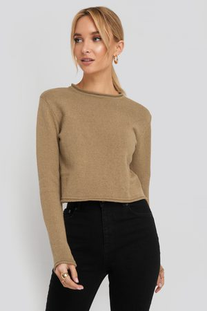 NA-KD Recycled Cropped Sweater